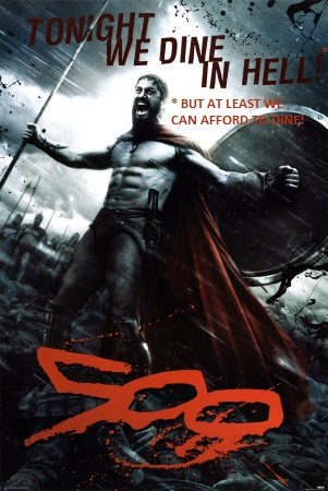 Reworked movie poster for 300 (1)